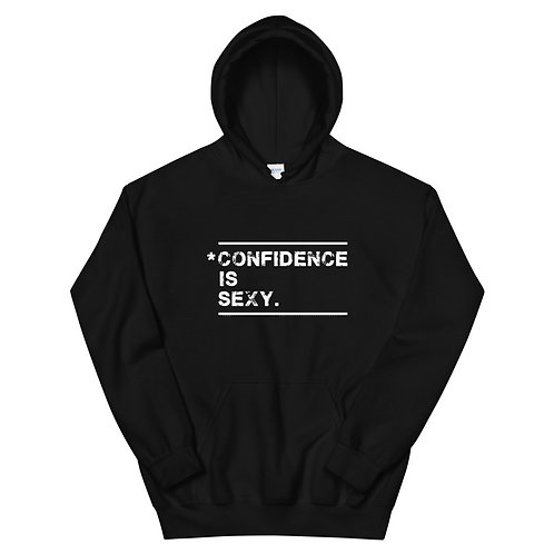 Confidence is sexy hoodie