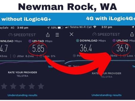 Week 9 - Newman Rock - Half way across the Nullarbor