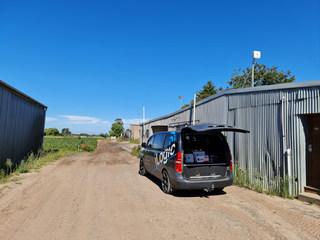 Clyde Victoria farm installation