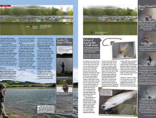 Total FlyFisher Magazine Article - Spiders for Stillwaters