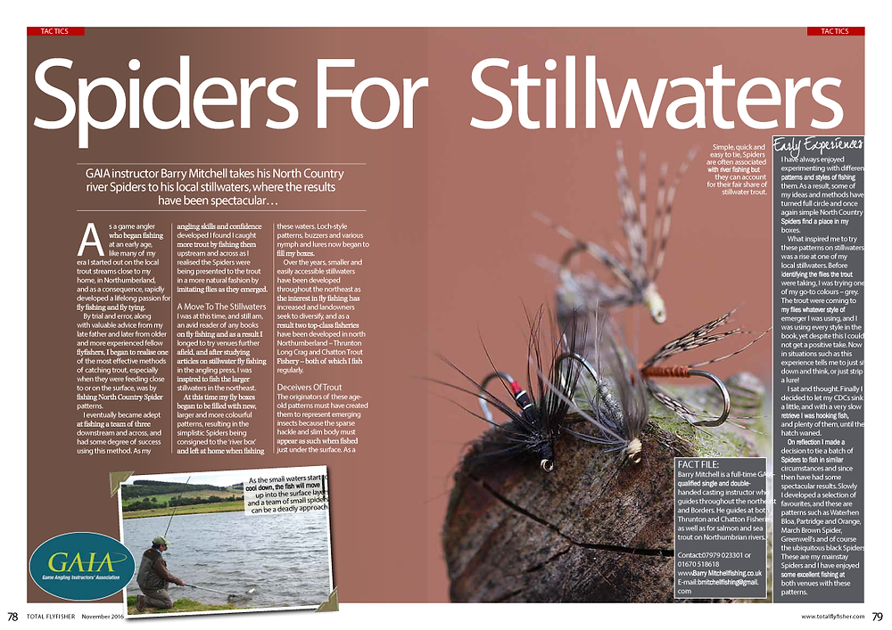 Total Fly Fishing Magazine Article