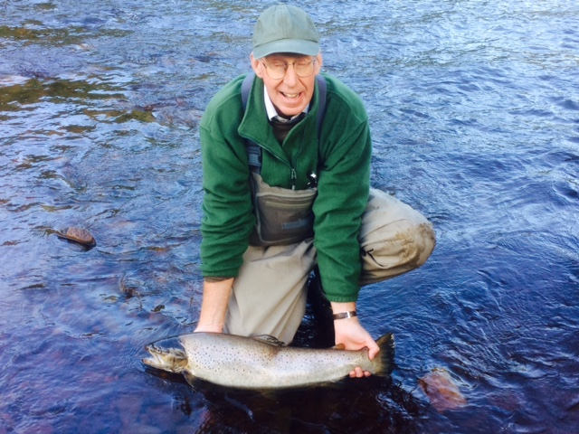 Double Figure Sea Trout at Farnley