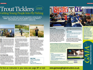 Total FlyFisher Magazine Article - Getting Young People into Fly Fishing