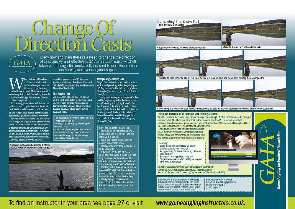 Change Of Direction Casts