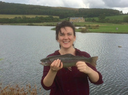 First Fish at Chatton