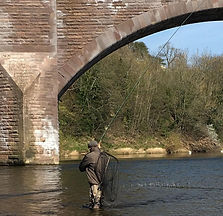 Fly Fishing Casting Tuition Northumberland Lessons