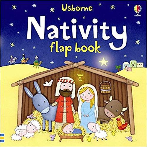 Nativity Flap Book -Board book