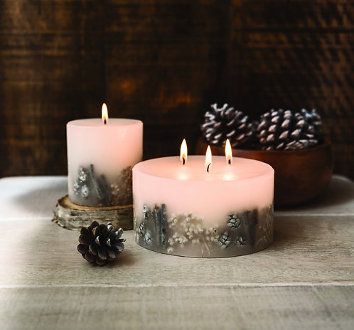 STONEGLOWS Winter Woods 3 Wick Candle