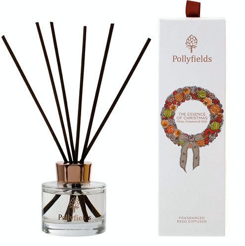 Pollyfields Essence of Christmas Reed Diffuser