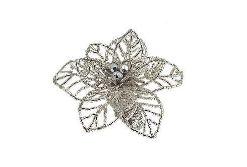 Fern napkin ring silver (set of 2)