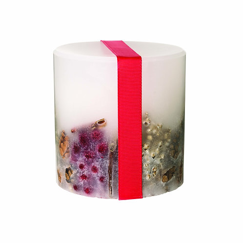 STONEGLOWS Nutmeg, Ginger & Spice Fat Pillar Candle