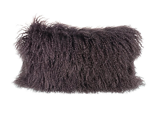 Tibetan Pure Wool Cushion -Grey