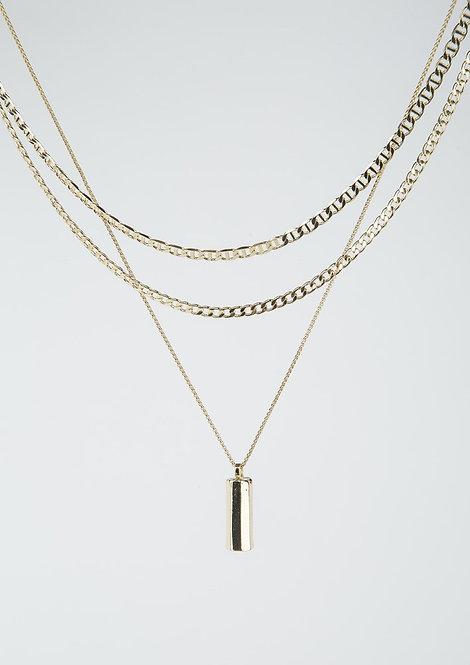Tutti & Co. - Gold Kiel Necklace