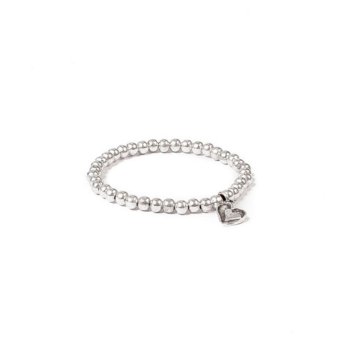 Treaty - Sam Bracelet with Heart Charm