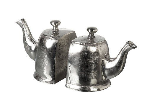 Pair of Teapot Bookends