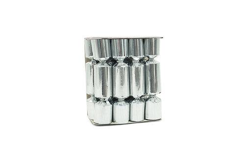Mini Silver Wine Charm Crackers - 8 Per Box