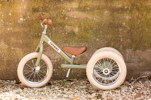Steel Trybike 2-in-1 'Vintage Green'