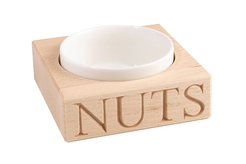 'Nuts' Holder with porcelain dish