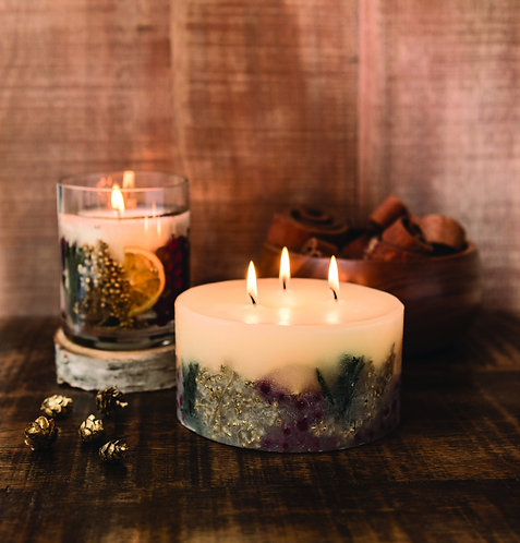 STONEGLOWS Winter Spice 3 Wick Candle