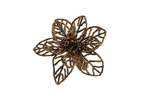 Fern Napkin Ring Gold set of 2