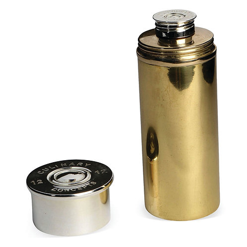 Cartridge Cylindrical Hip Flask