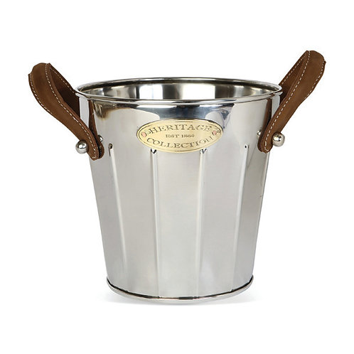 'Heritage' Leather Handled Wine Cooler