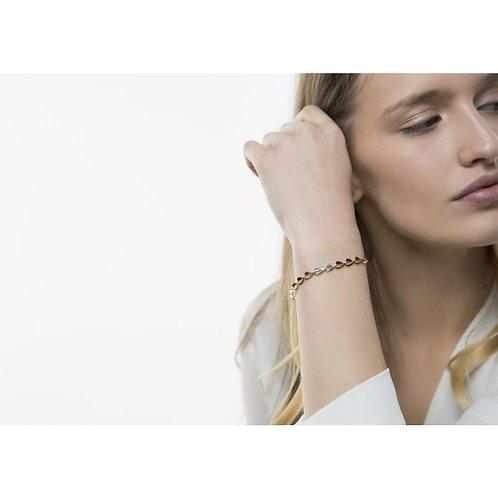 Tutti & Co. - Gold Heart Bracelet