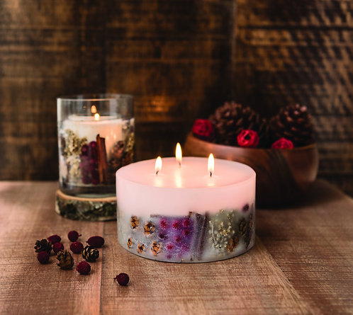 STONEGLOWS Nutmeg, Ginger & Spice 3 Wick Candle