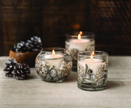 STONEGLOWS Winter Woods & White Jasmine Natural Wax Tumbler