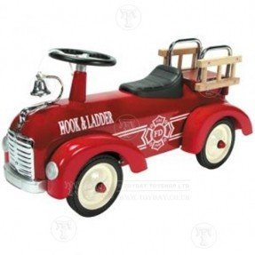Ride-on Red Fire Engine