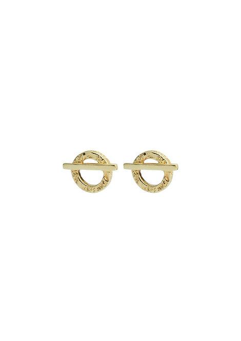 Tutti & Co. - Gold Naos Earrings