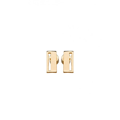 Tutti & Co. - Gold Urban Earrings