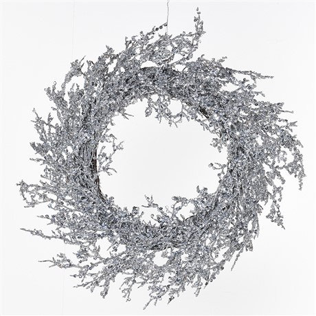 copy of Frosted Pinecone Wreath - 24'
