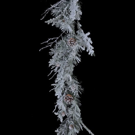 Frosted Pinecone Garland - 1850mm
