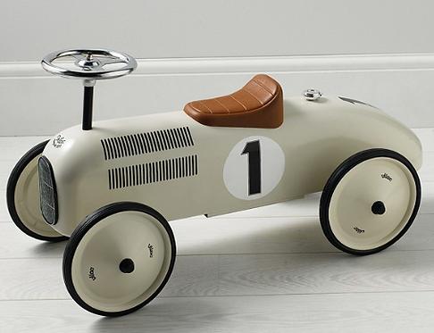 Ride-on Retro Toy Car