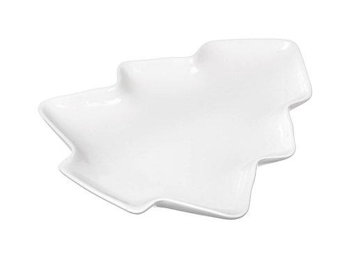 White Porcelain Tree Dish - Large