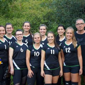 Die Volleyballdamen gehen online
