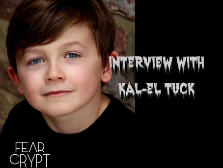 Interview with 'Unseeing Evil' actor - Kal-El Tuck