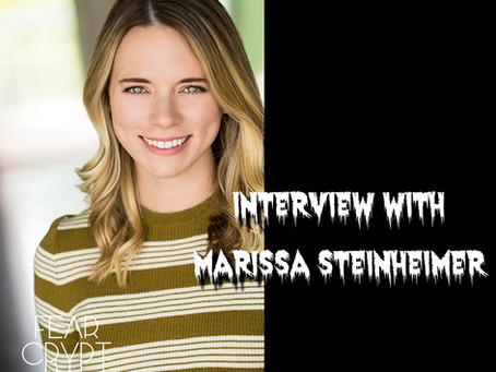 Interview with 'Crafts + Stuff' Actress and Co Director - Marissa Steinheimer