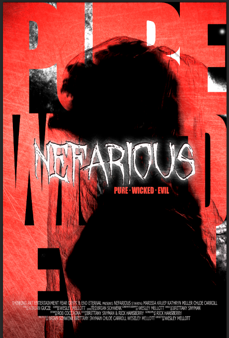 Nefarious Poster
