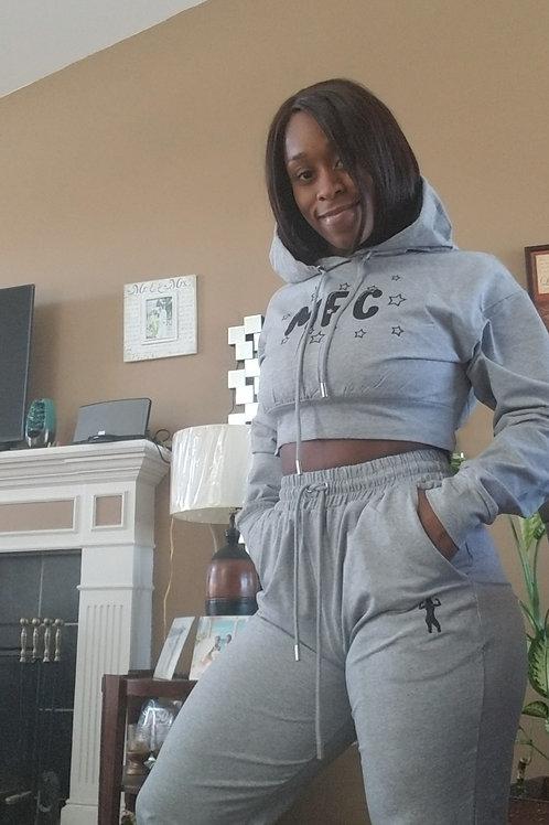 MFC Crop Sweat pants set
