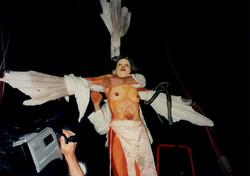 'Crucifixion' performance