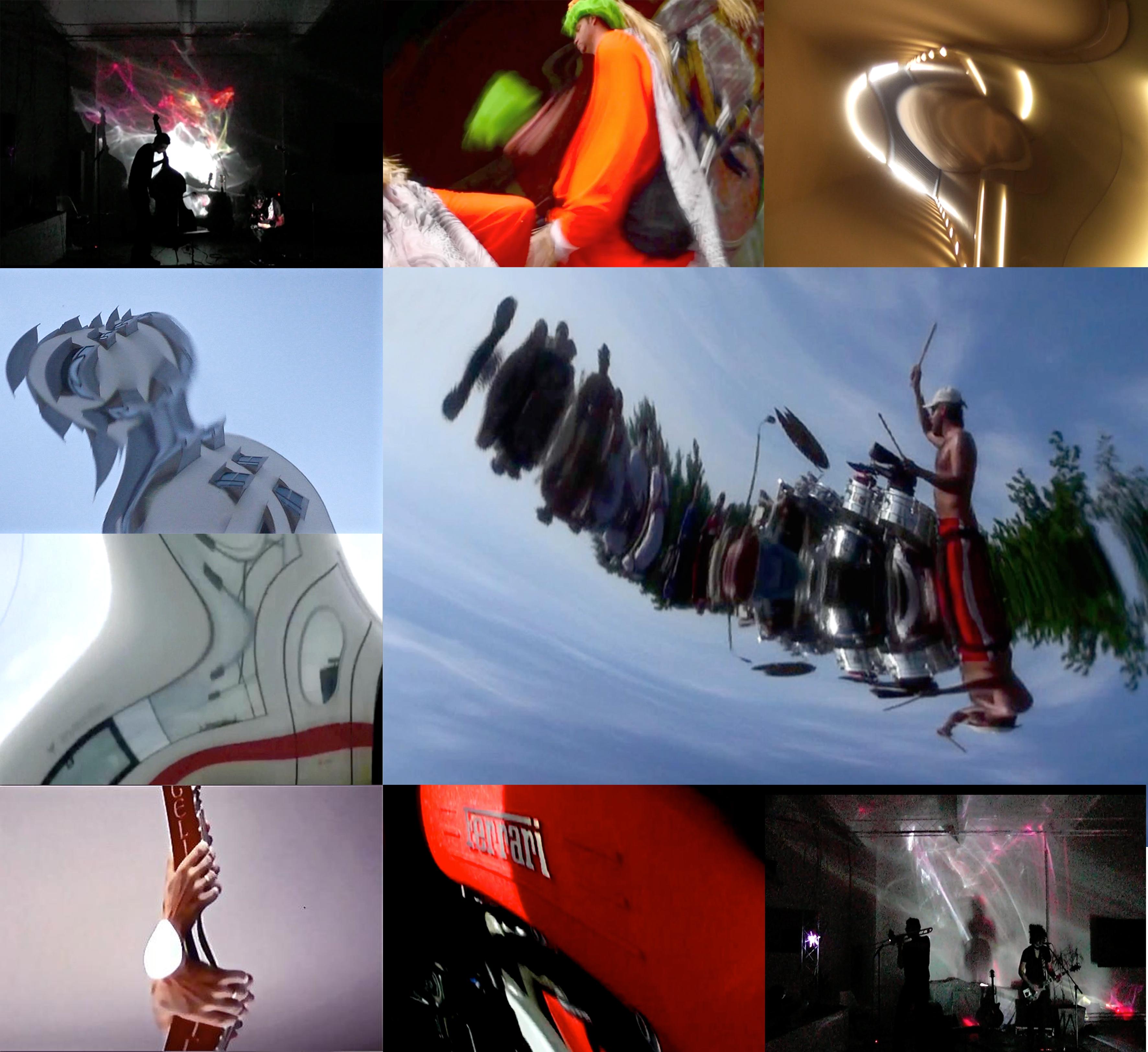 Anamorphic Videos