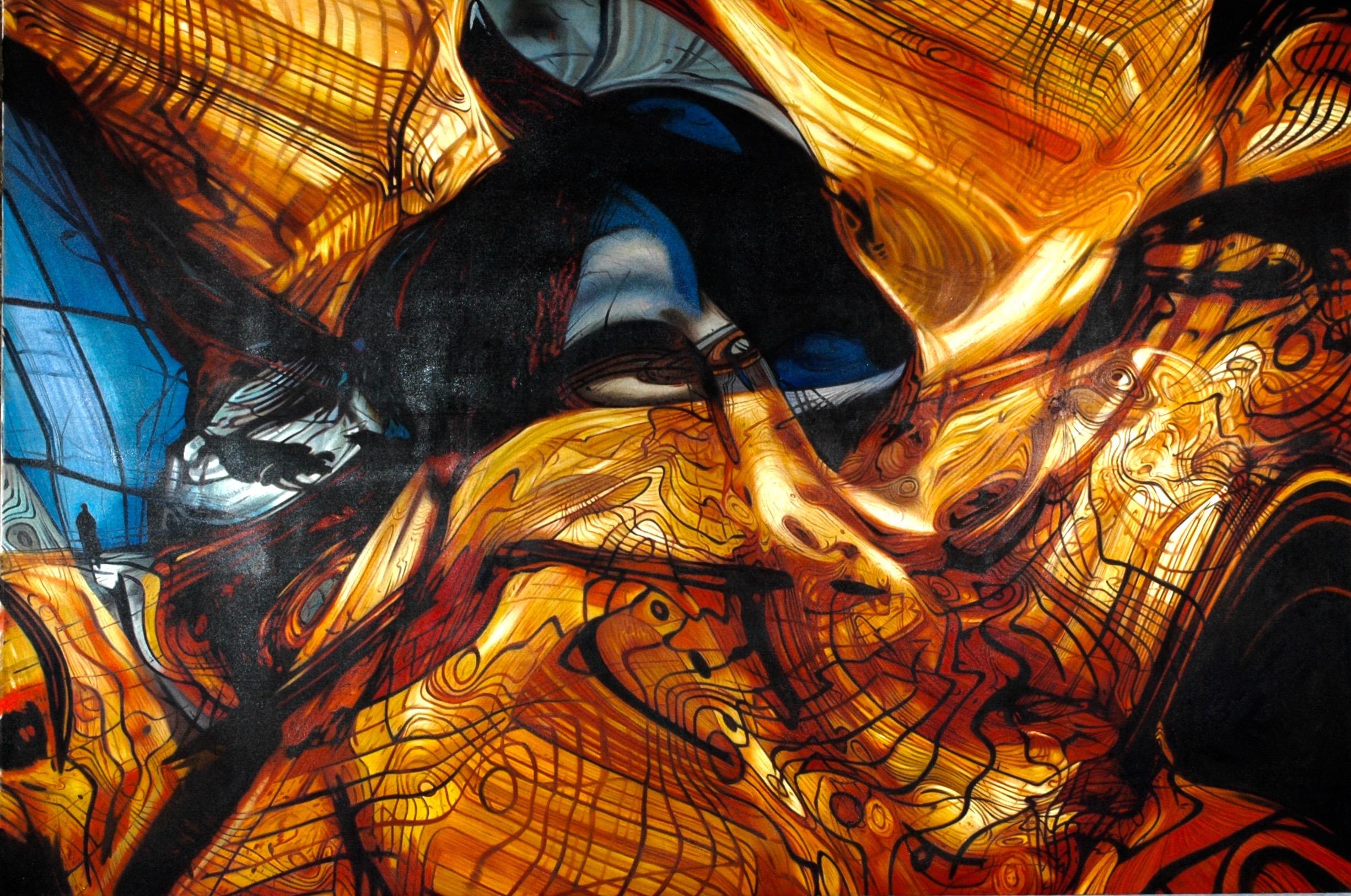 Anamorphic Paintings