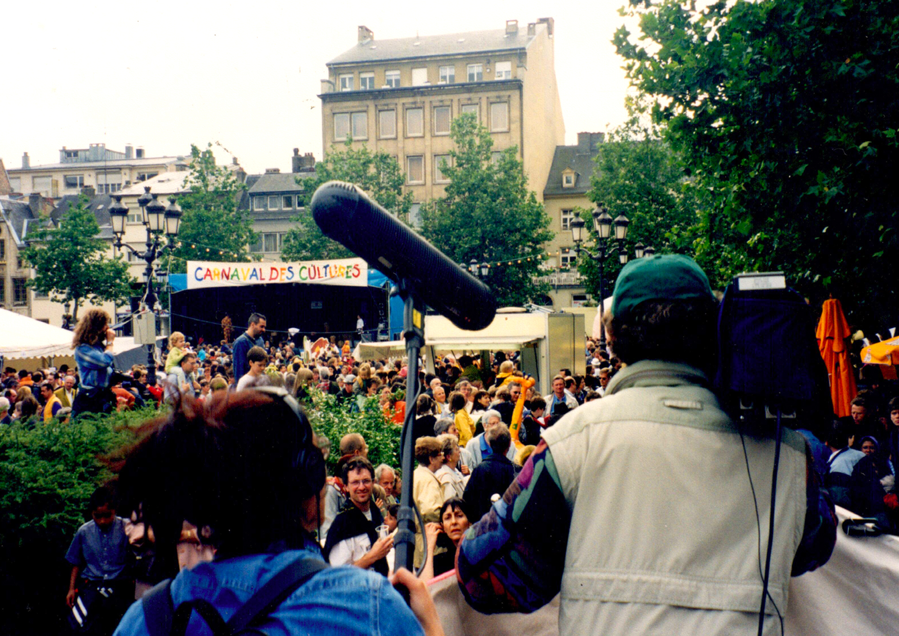 Place Gulliaume-Main stage