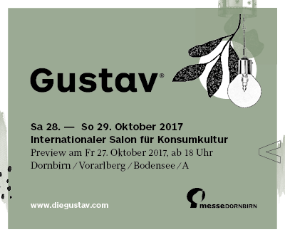 RANKEL WALNUSS auf der GUSTAV Design- und Genussmesse in Dornbirn vom 27.-29.10.2017