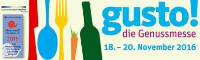 gusto!2016 die Genussmesse in Ravensburg