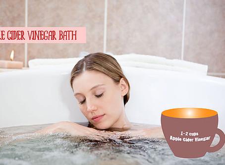 「お風呂にアップルビネガーサイダー」のすばらしい効能