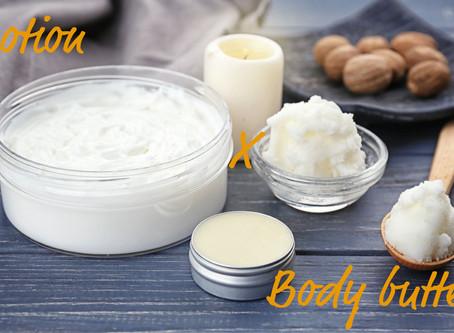 乾燥肌にはボディバターとローション、どちらを使うべき?