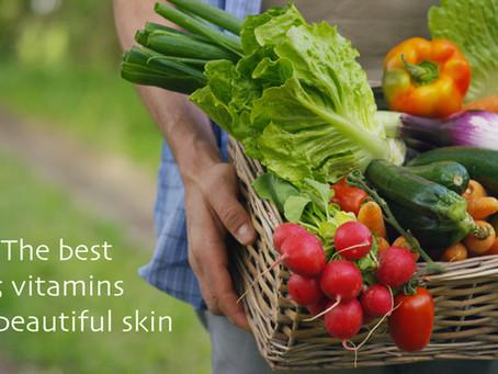 美肌のために絶対取りたいビタミン5種類